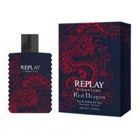 REPLAY SIGNATURE RED DRAGON FOR MAN EDT